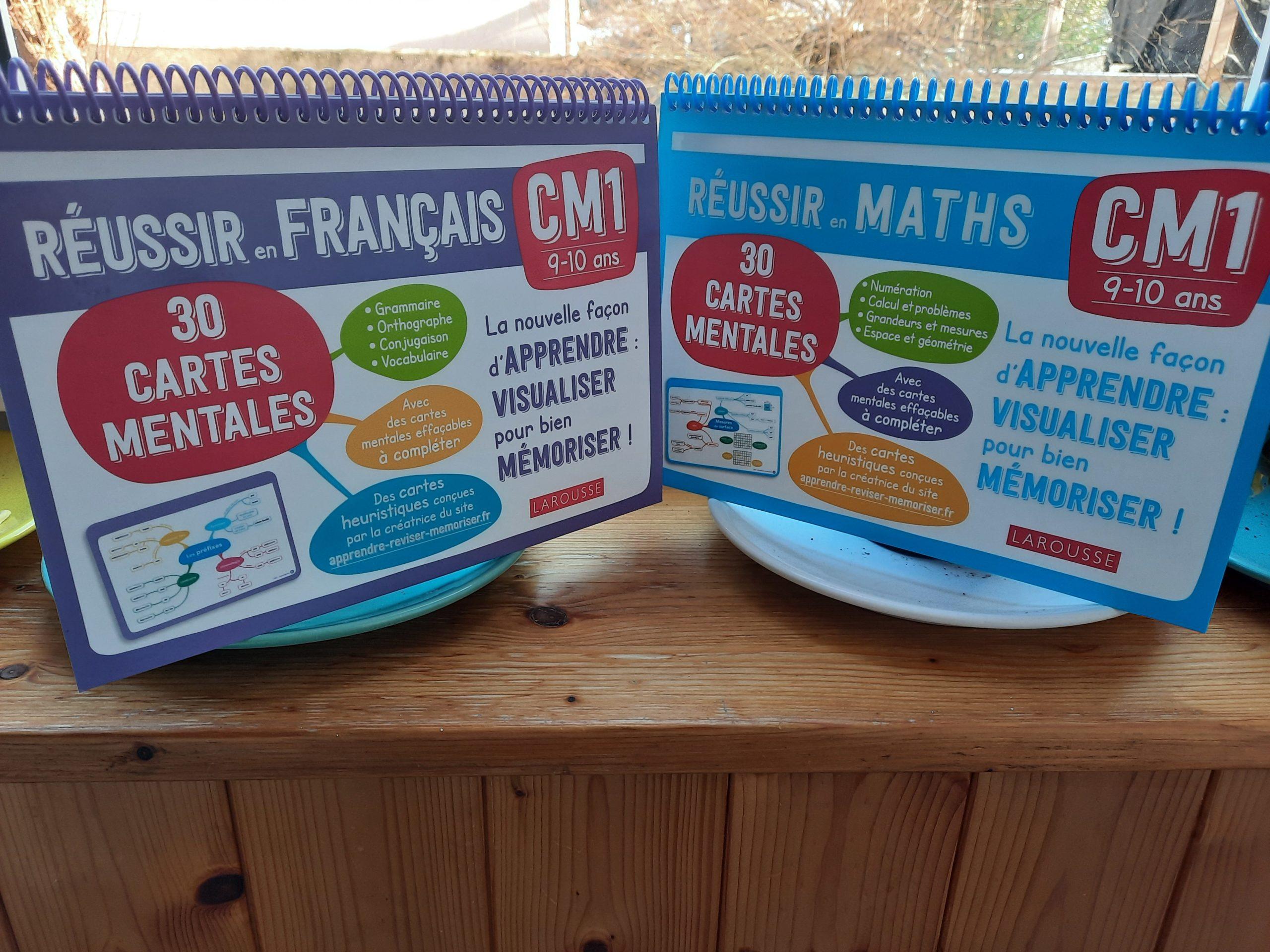 cartes mentales francais maths programme cm1