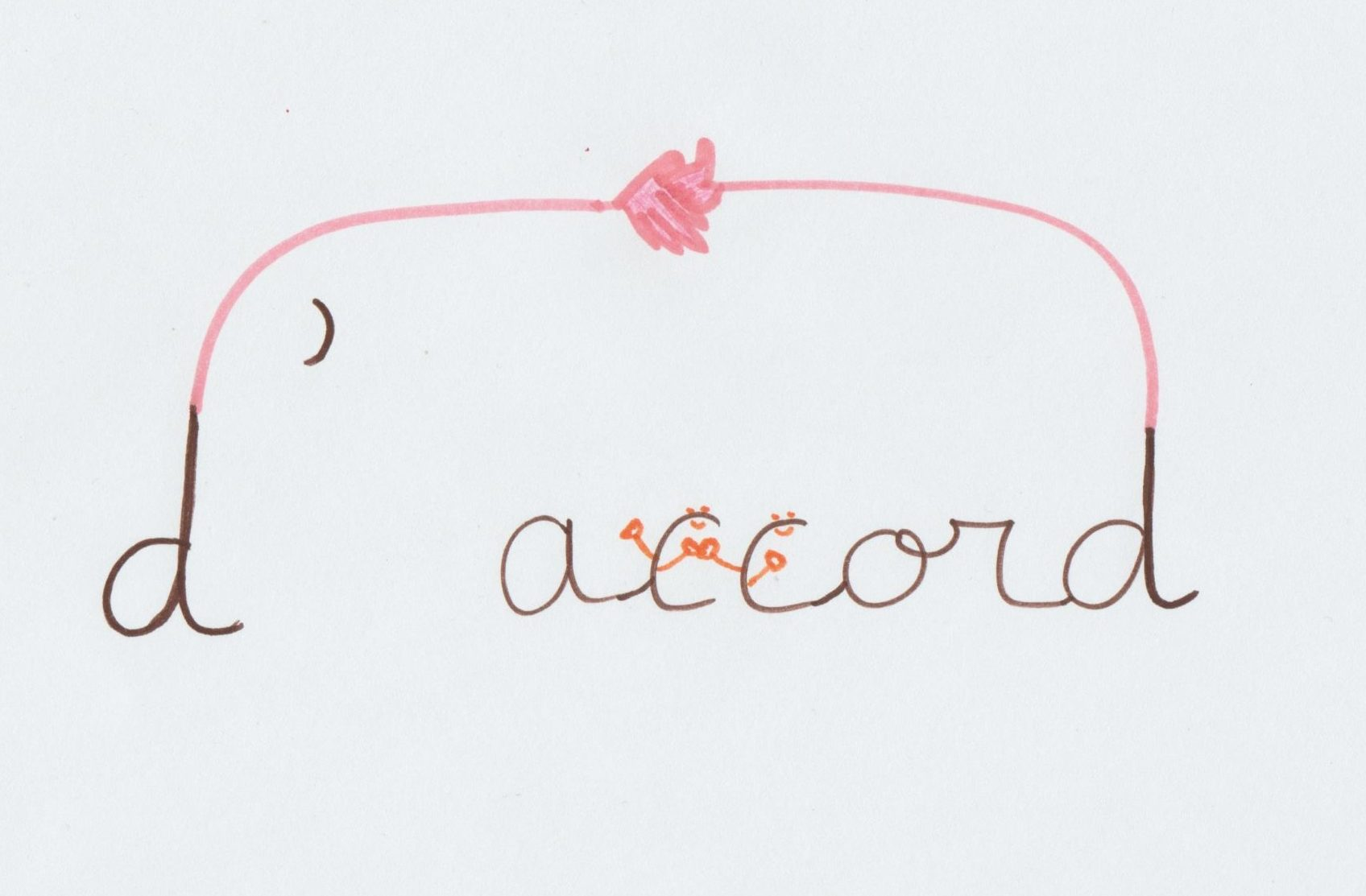 dessin orthographe illustrée