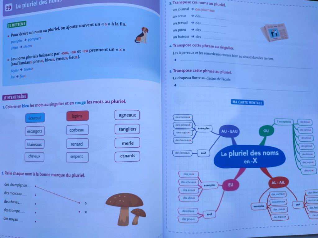 cahier enfants révisions école cp cm2