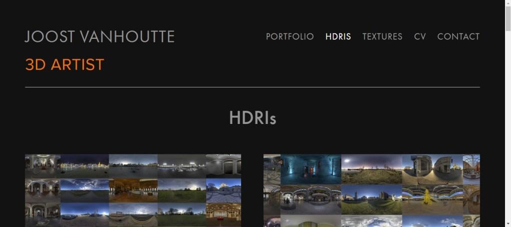 Images HDRI gratuites: joost 3d
