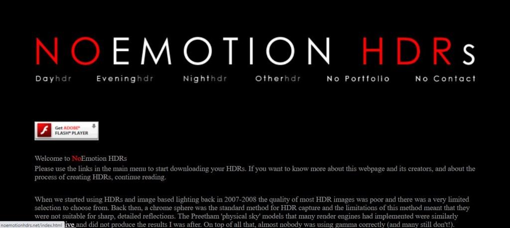 Images HDRI gratuites: noemotionshdr