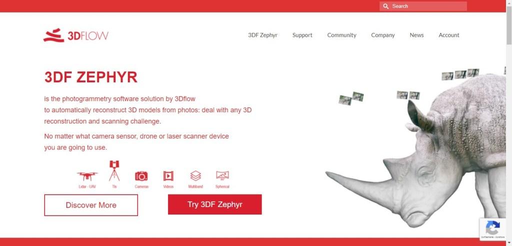 3df zephyr - appli 3D de photogrammétrie