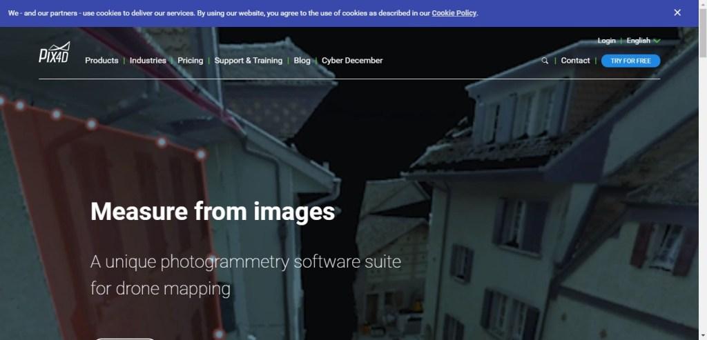 Pix4D - Appli 3D de photogrammétrie