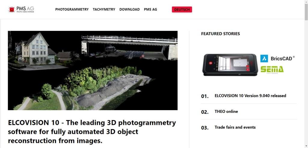 appli 3D de photogrammétrie - Elcovision 10