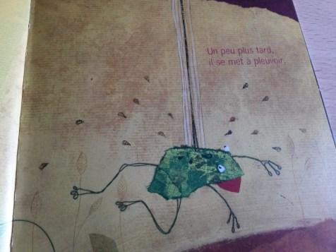 la grenouille à grande bouche