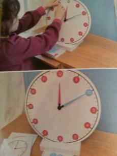 horloge pédagogie montessori