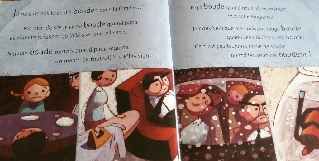 livre bouder enfant