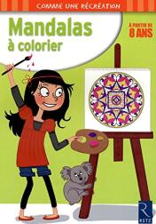 mandalas à colorier enfants