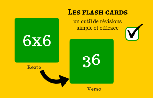 les flash cards