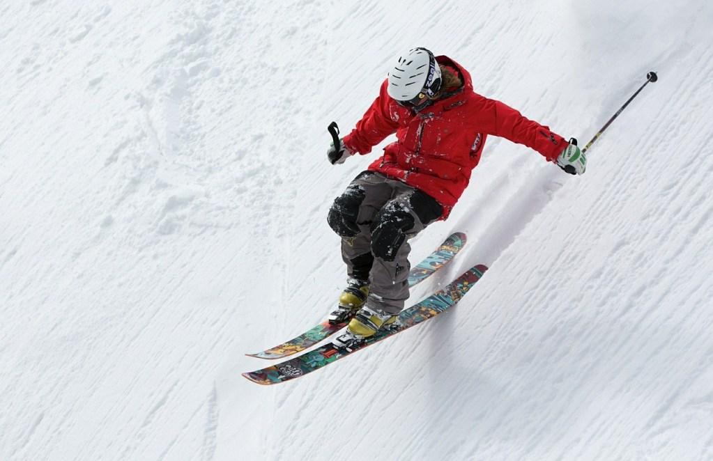 sport skieur