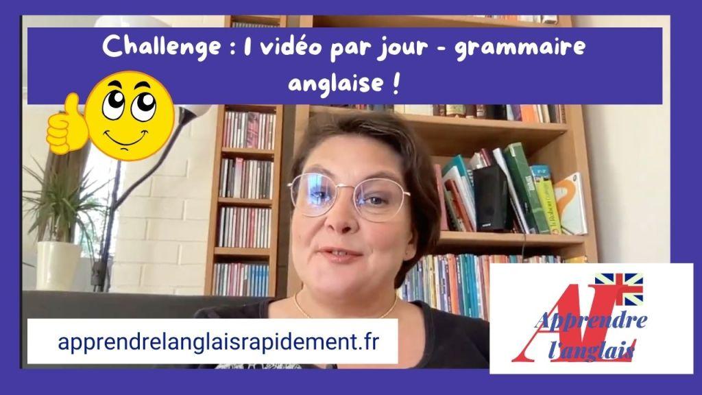 Grammaire en anglais