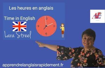 Les heures en anglais