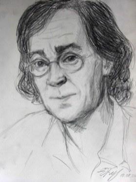 Jean-Pierre. 30x40 dessin au crayon