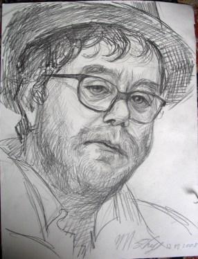 François. 30x40 dessin au crayon