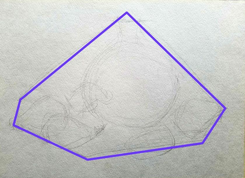 Comment dessiner correctement. La méthode de comparaison. Nature morte. La composition.