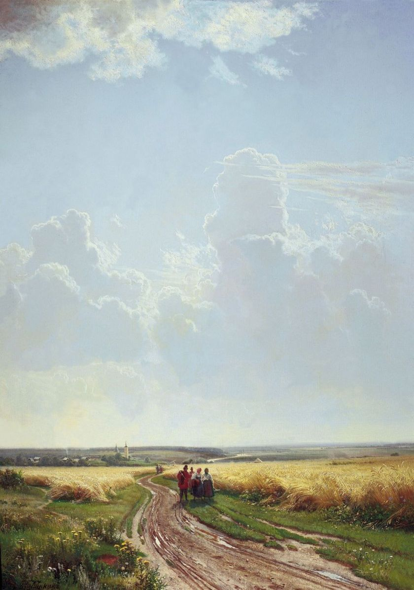 la perspective aérienne Ivan Chichkine