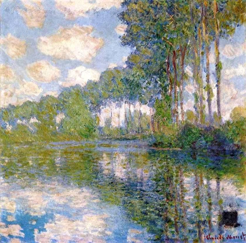 la perspective aérienne Claude Monet