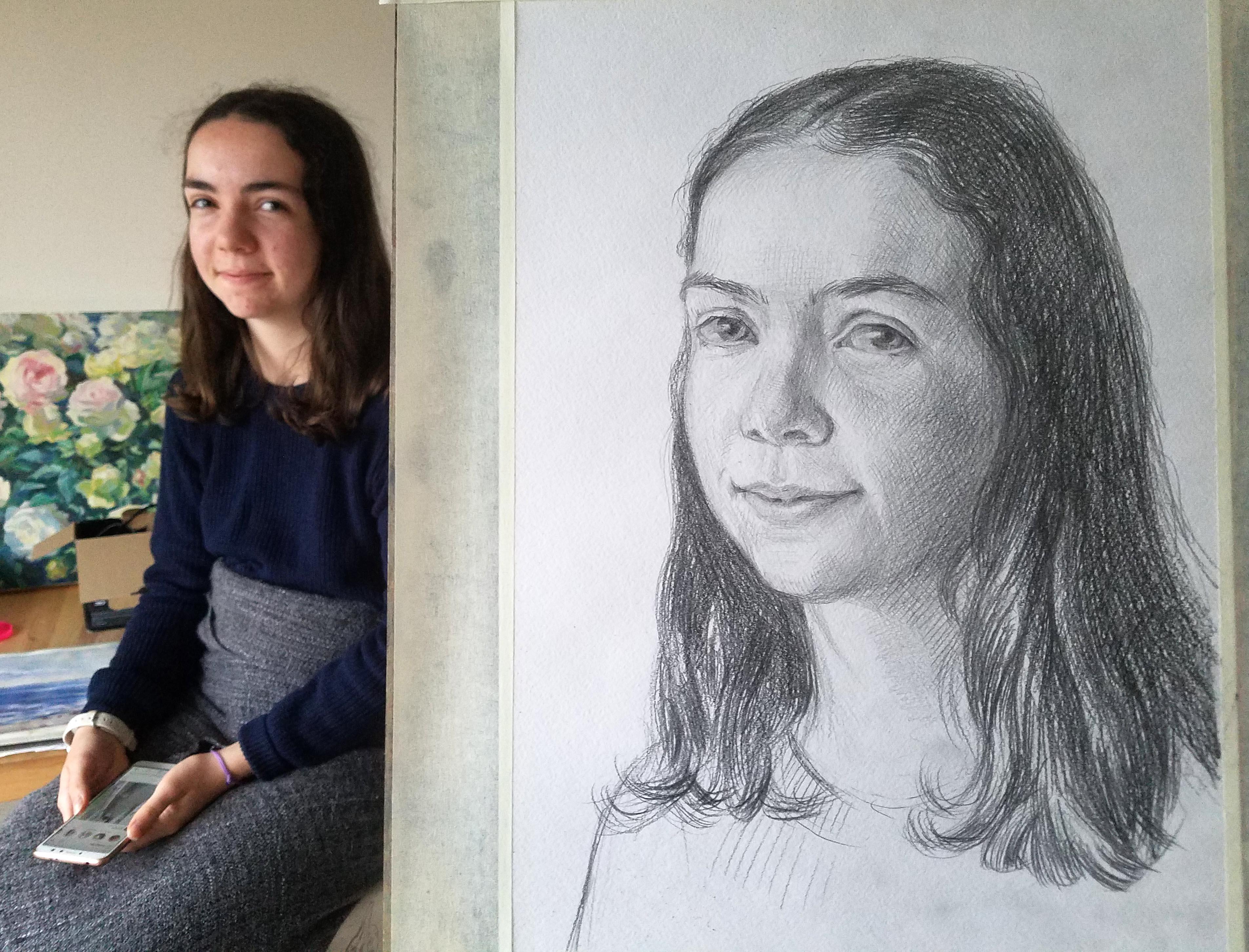 Comment Dessiner Un Visage Apprendre La Peinture Avec Elena Kuznetsova