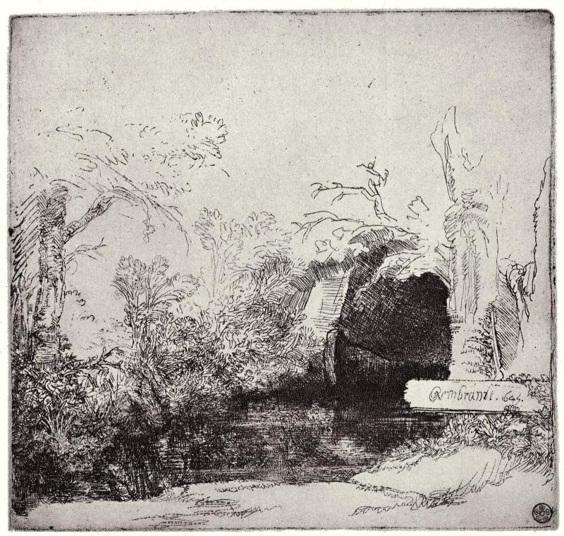 Rembrandt. L'eau-forte