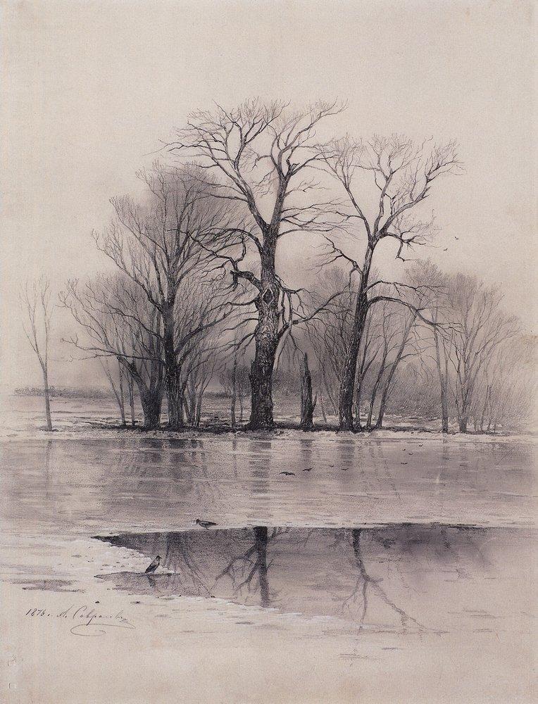 Comment dessiner l'eau et ses reflets dans le paysage