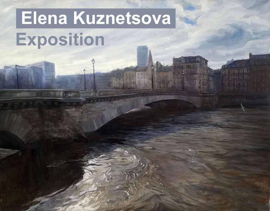 Exposition de peinture d'Elena Kuznetsova
