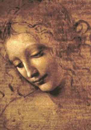 Comment peindre les roses à l'huile. Technique imprimatura. Léonard de Vinci