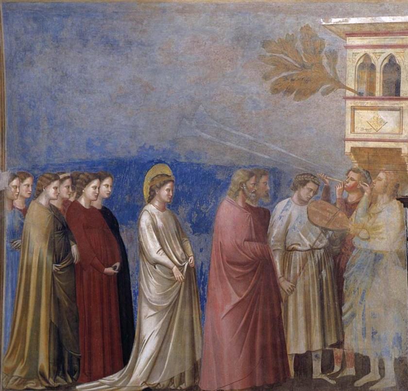Giotto. Imprimatura. Exemple