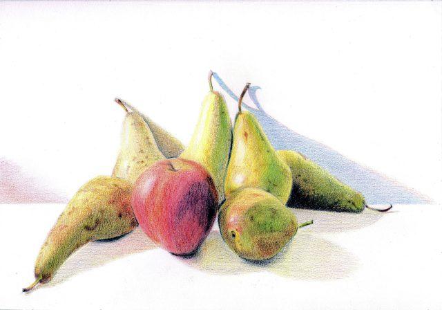 Pomme, poires mais pas de scoubidous