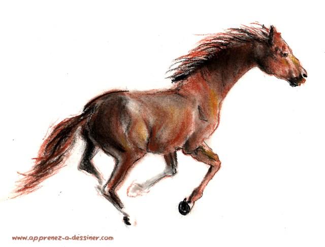 Comment dessiner un cheval part 1 apprenez a - Comment dessiner un cheval au galop ...