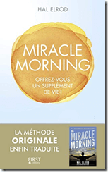 "Couverture du livre ""Miracle Morning"""