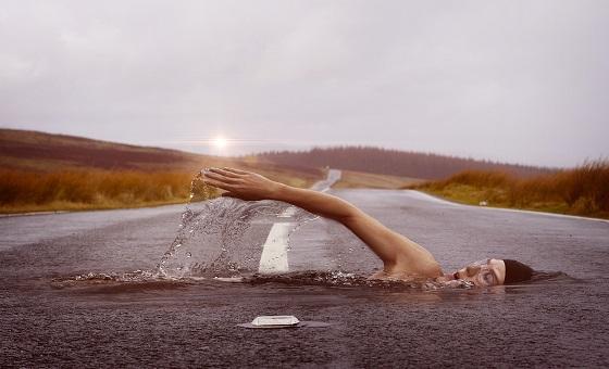 swimmer sport - Sport et stress, paru dans Le Huffington Post