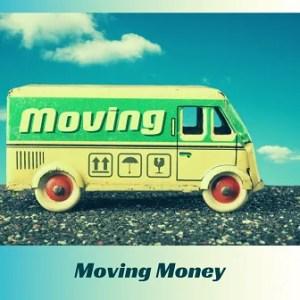 Moving money, illustration