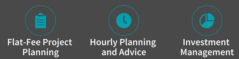 Overview of pricing options for financial planning services
