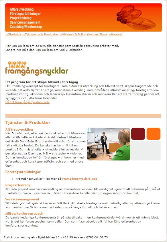 Stafrén Consulting AB - Företagsutbildningar