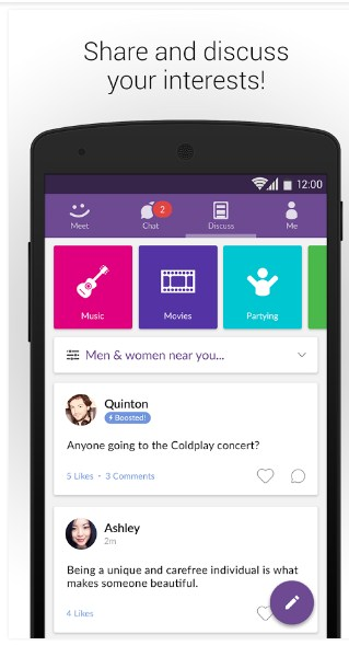 MeetMe APK for Android - Approm.org MOD Free Full Download