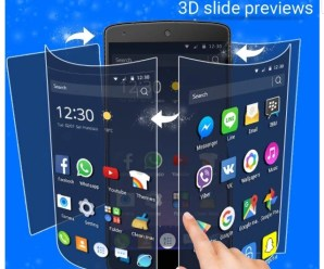 CM Launcher 3D APK for Android