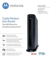Motorola MG7540 WiFi Cable Modem Router 1