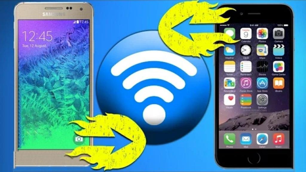 كيفية إرسال ملفات كبيرة الحجم جدًا بين هواتف Android تعرف معي