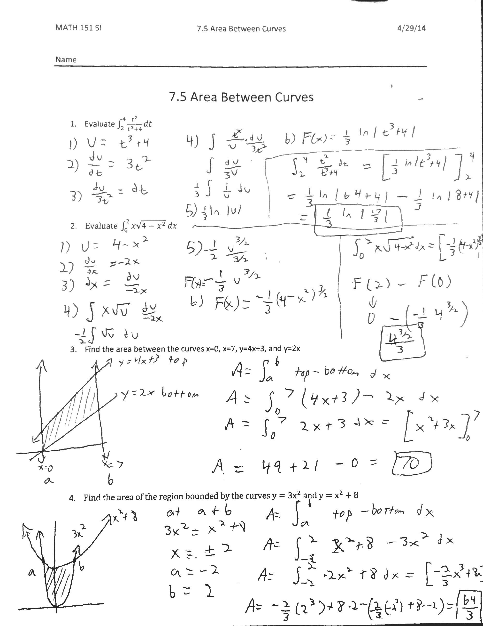Math 151 Supplemental Instruction