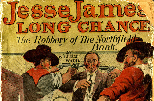Jesse James' Long Chance (Book Cover)