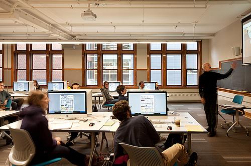 Media Classroom Weitz Center For Creativity Carleton