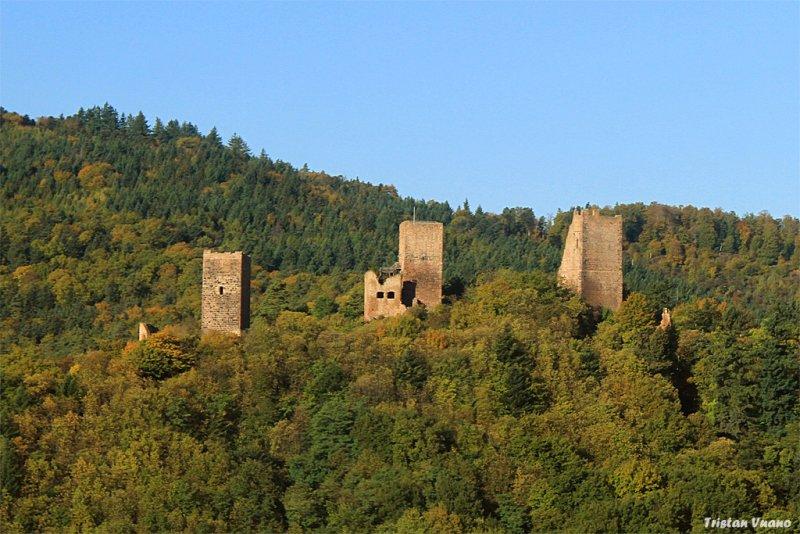Les Trois Chteaux Du Haut Eguisheim Eguisheim