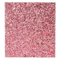 Metallic Hot Pink Glitter 48 Piece Makeup Set