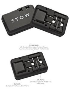 Stow Travel Plug Adaptor