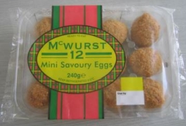 McWurst 2 Mini Savoury eggs