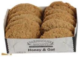 Farmhouse Biscuits Honey & Oat
