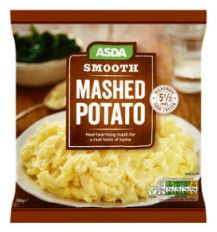 Asda Frozen Smooth Mashed Potato