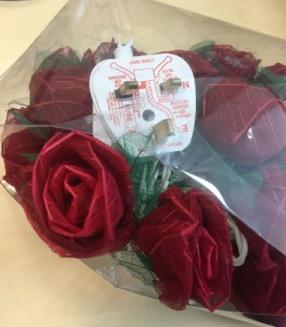 Rose Petals Lighting Chain
