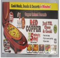 Red Copper 5 Minute Chef Intertek_Telebrands Corporation Electric grill pan