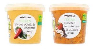 Waitrose soups
